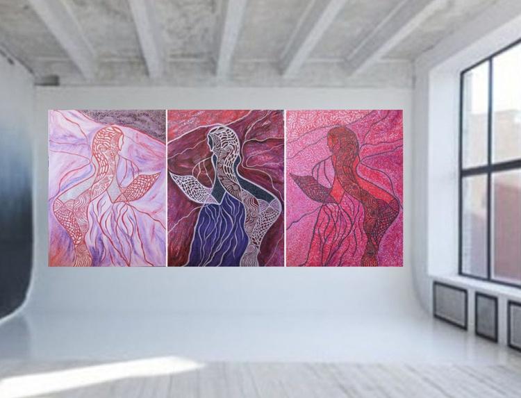 The Alchemy, Triptych - Image 0