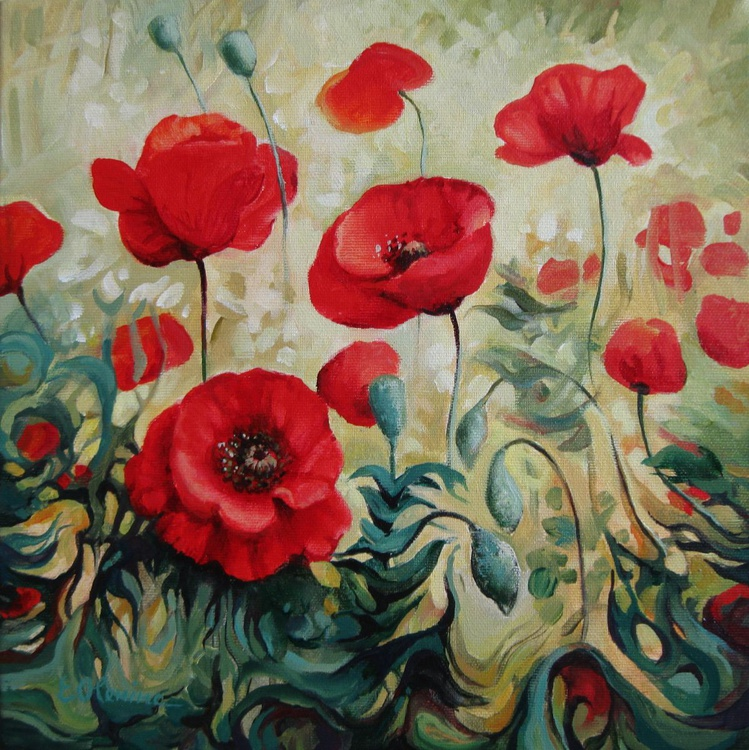 Summer poppies - Image 0