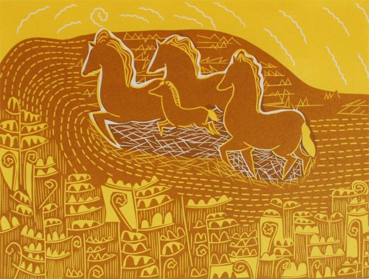 Galloping through the Sun - Image 0