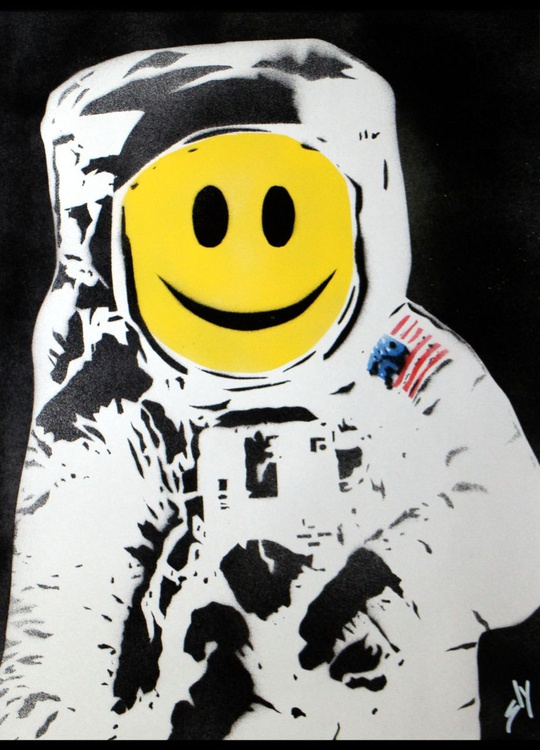 The Happynaut (On Paper) Plus FREE signed Ditty! - Image 0