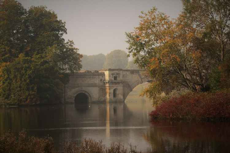 The grand bridge - blenheim palace 2