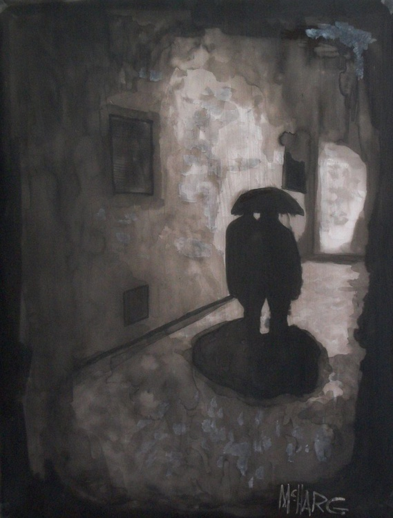 "Shadows   18"" x 24"" - Image 0"