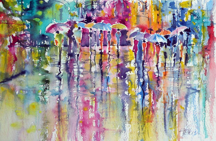 Colorful rain - Image 0
