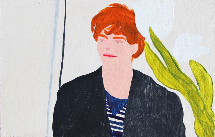 Boy with White Lilies - Image 0