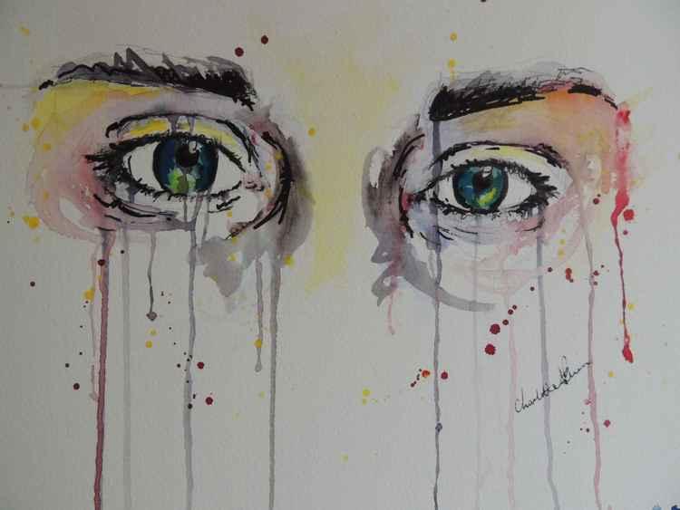 """""""Series of eyes"""" Charley"""
