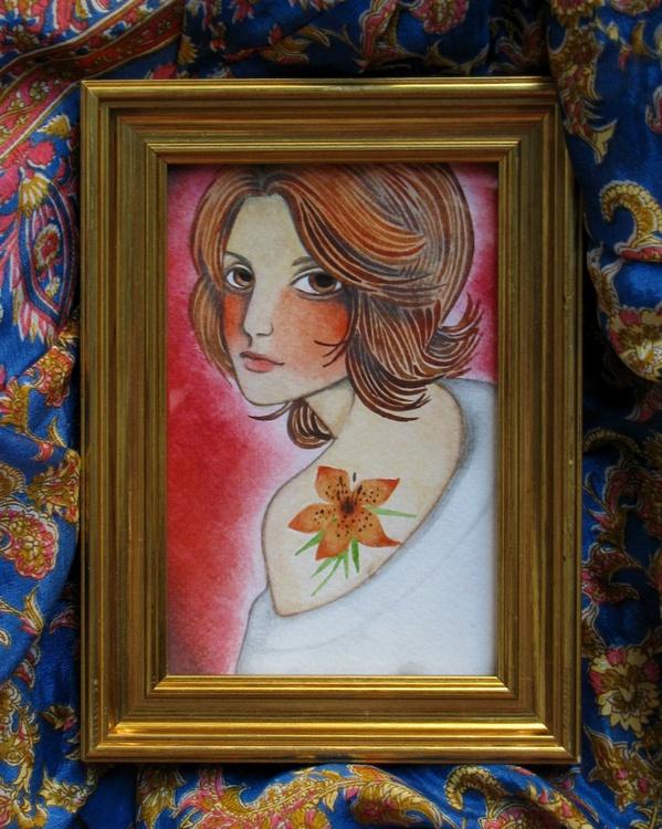 Orange Lily - Image 0