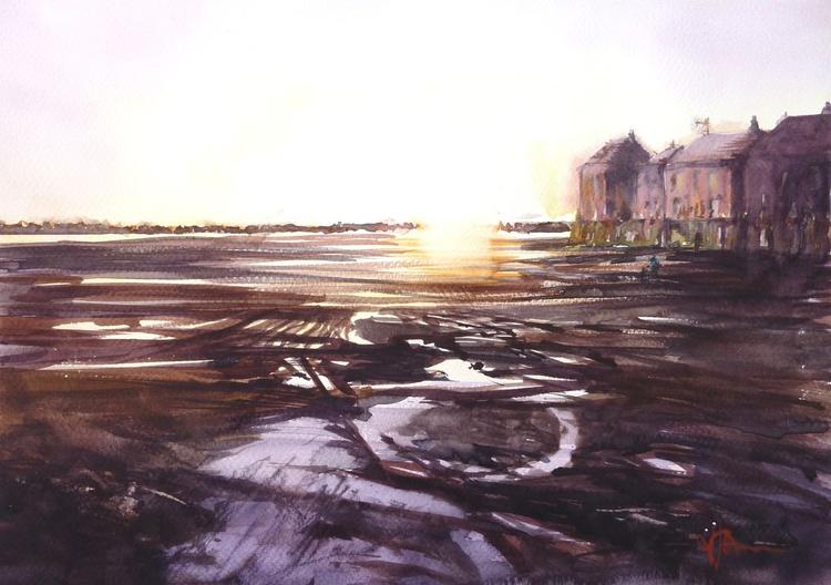 Mud Flats at Low Tide - Image 0
