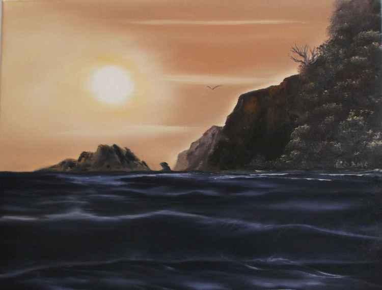 Seascape. -