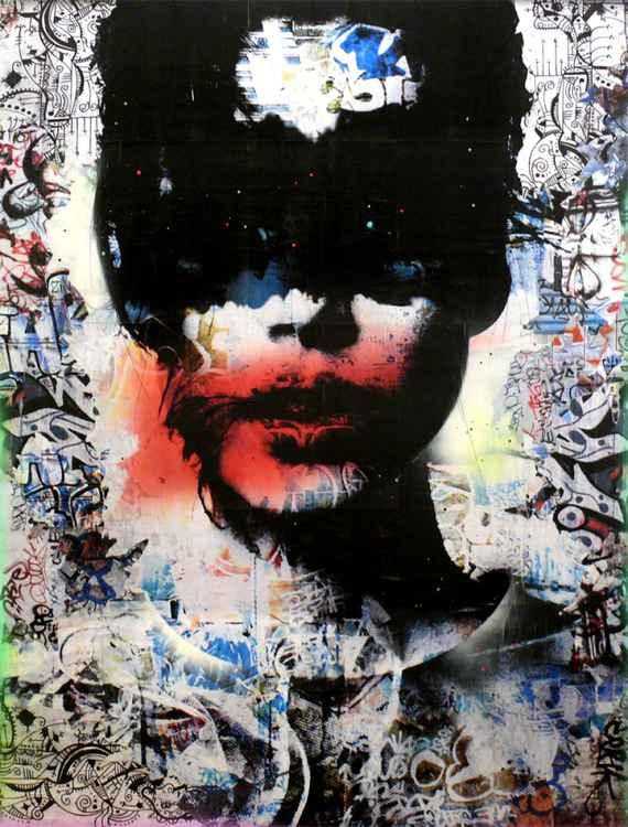 Tehos painting Lou 02 -