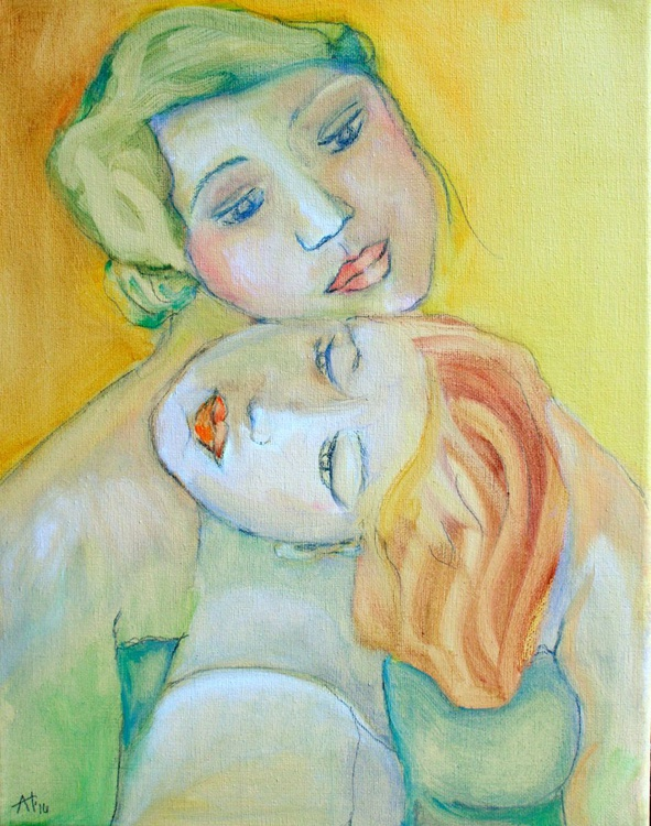 Mother and daughter - Image 0