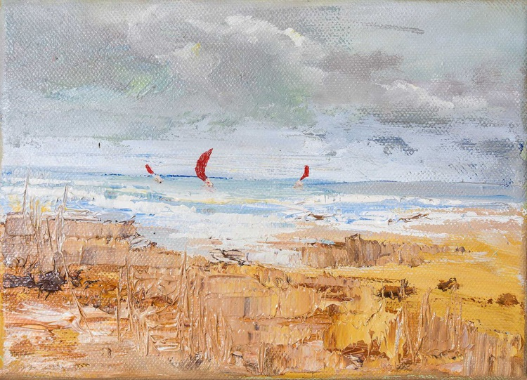 'Sailboats' - Image 0