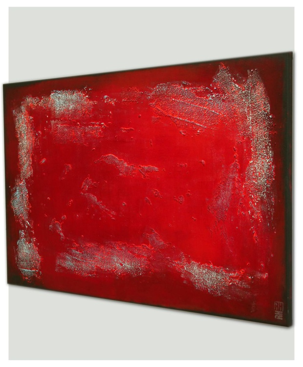 Abstract Painting - Once Red - B15 - Image 0