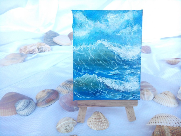 Miniature #008 - Easel included - Image 0