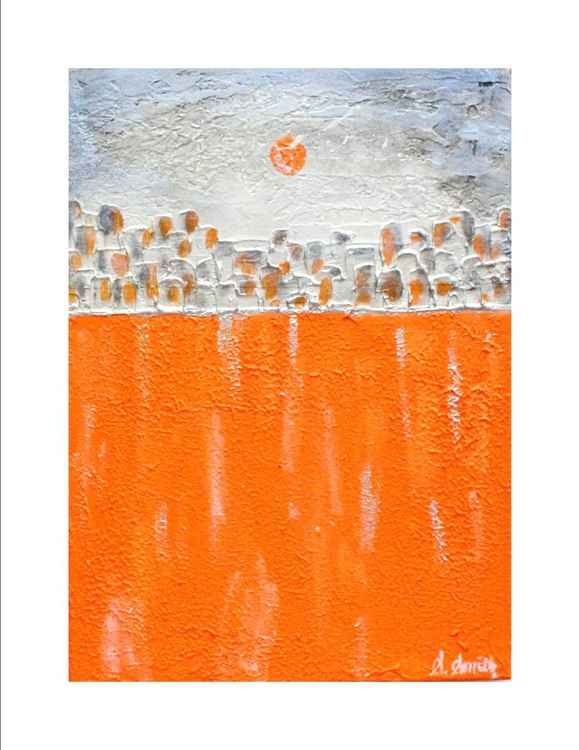 Orange Moon No.8 -