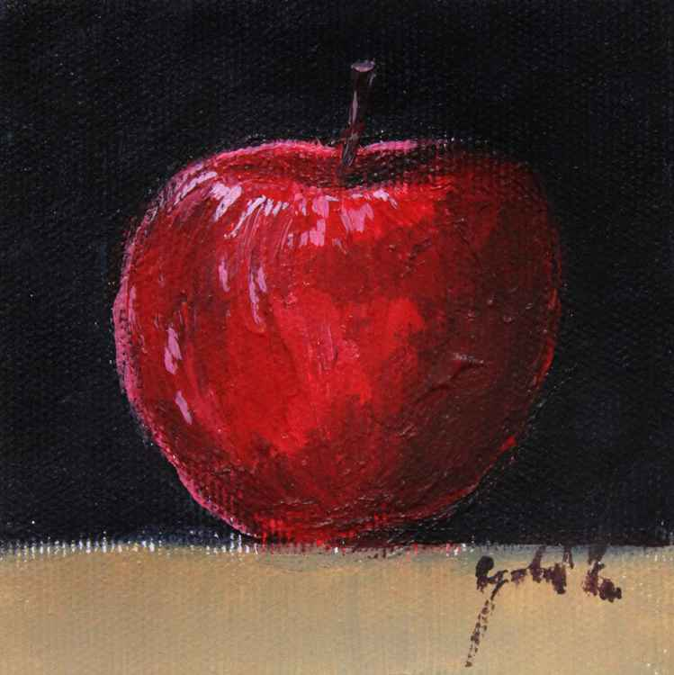 Red apple -