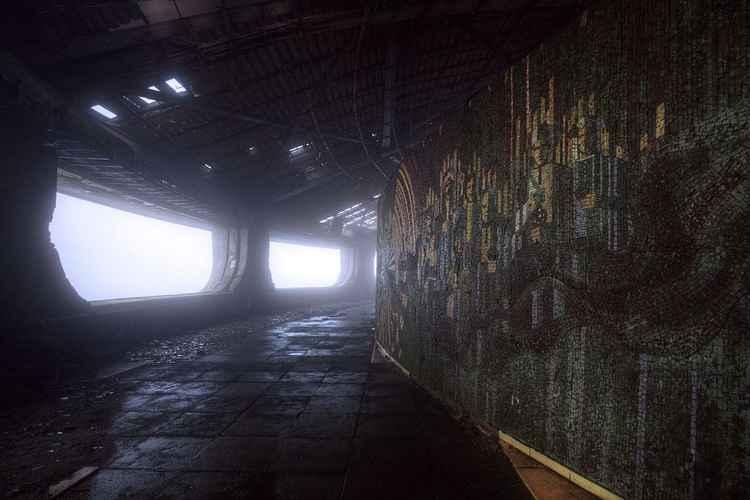 Misty view -