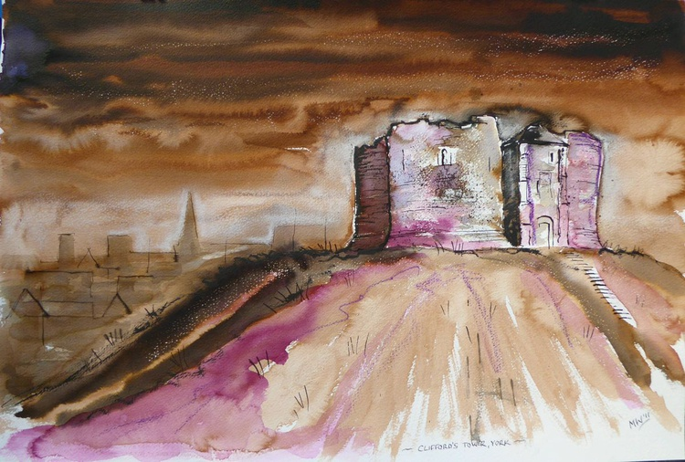 'Clifford's Tower, York' - Image 0