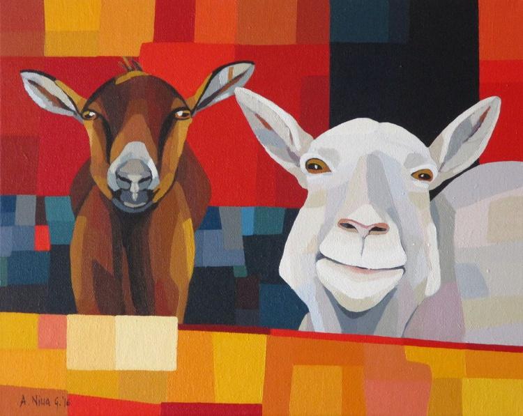 Goats selfie - Image 0