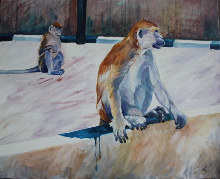 Supasave Monkeys II, Borneo - Image 0