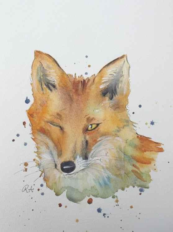 Winking Fox -