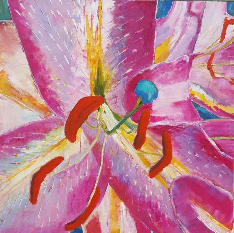 Pink Palatial Lilies