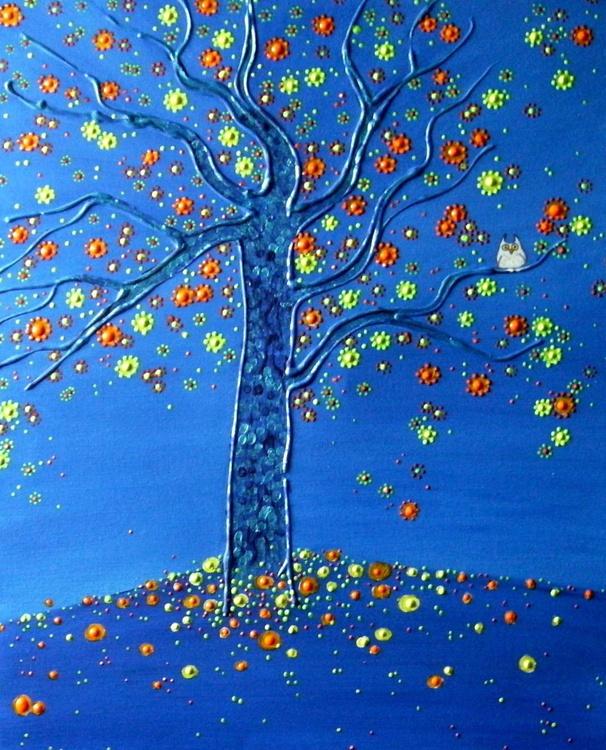 The blue tree - Image 0