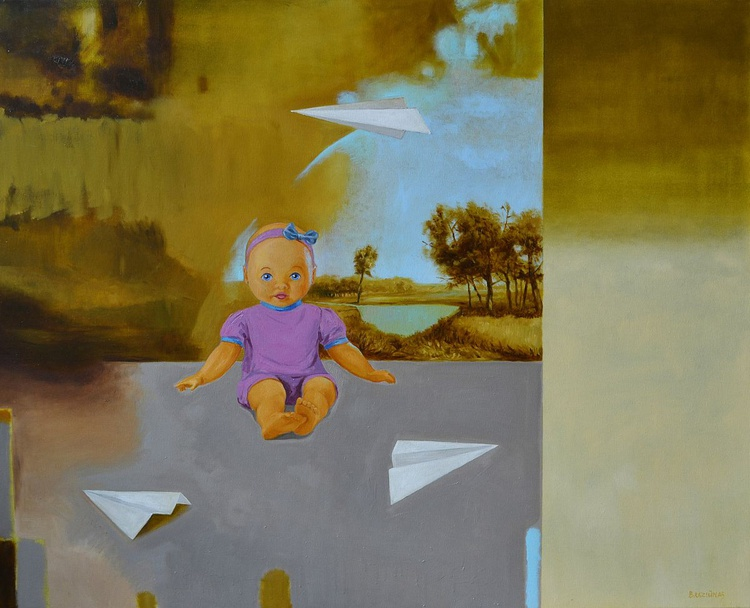 From the childhood , 110x90cm - Image 0