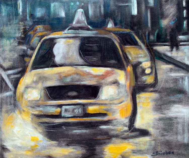 Yellow Cab Reflections