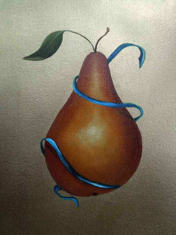Pear and Ribbon -