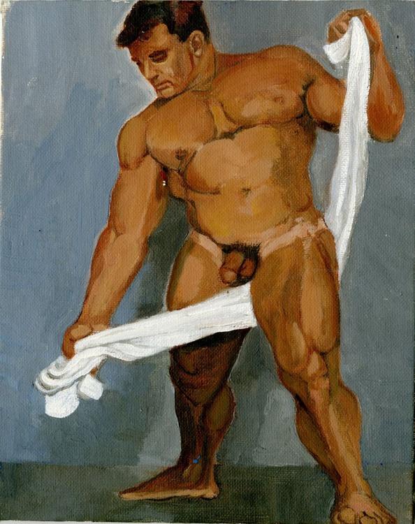 Male Nude Study - Image 0