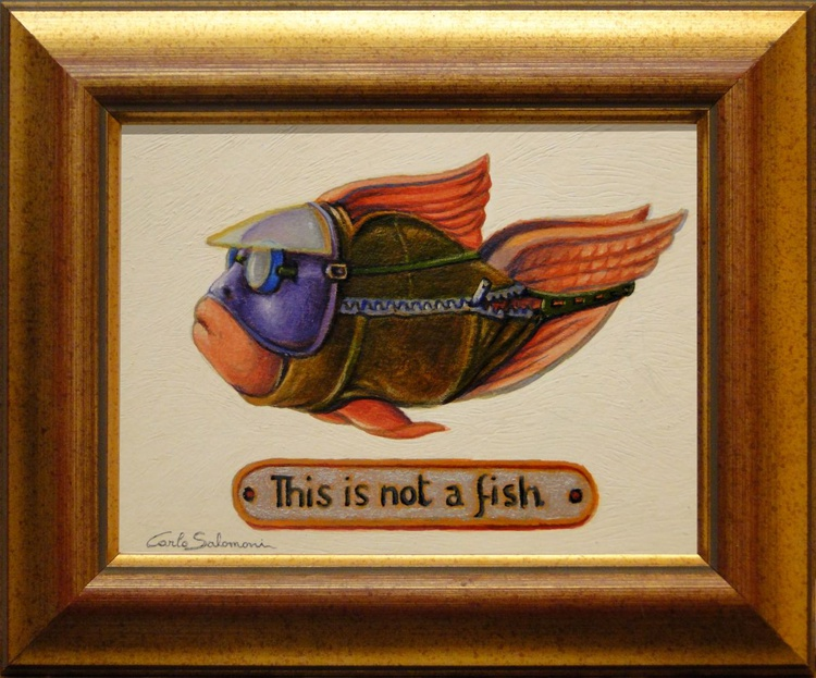 THIS IS NOT A FISH ( The biker ) - Image 0
