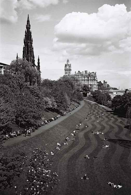 Princes Street Gardens, Edinburgh -