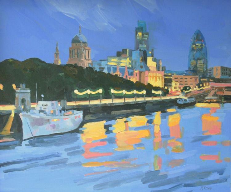 East from Waterloo Bridge - Image 0