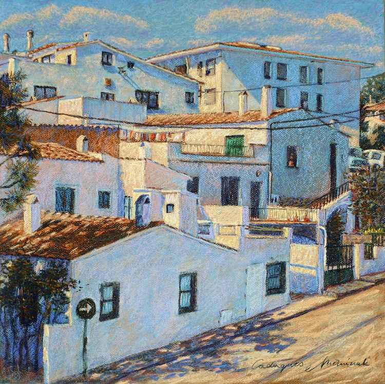 Urban landscape - Cadaques -