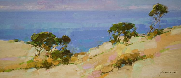 Ocean View Handmade oil painting One of a kind - Image 0