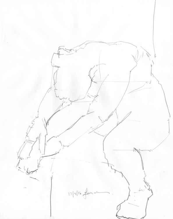 Life Drawing No 95 -