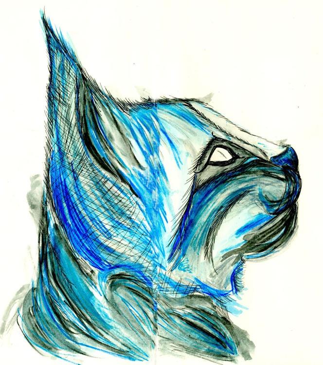 Blue Bobcat - Image 0
