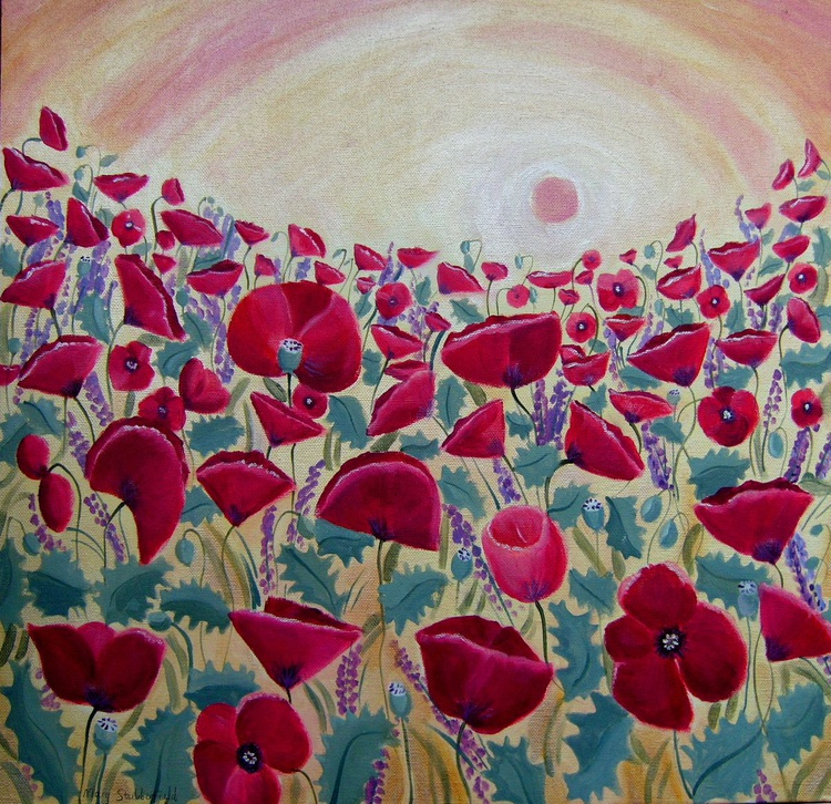 Poppies in the light - Image 0