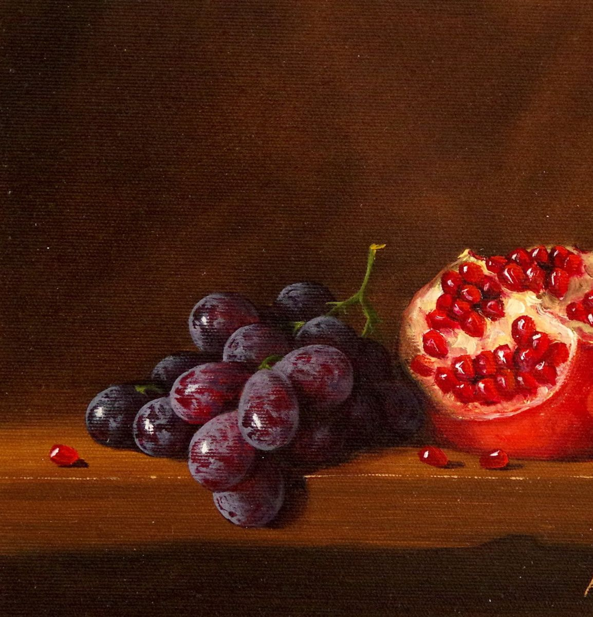 Pomegranate Painting For Sale