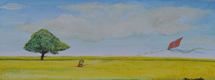 The Boy and the kite - Image 0