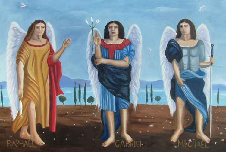 The three archangels