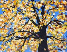 Softly Falling Autumn Leaves by Kume Bryant