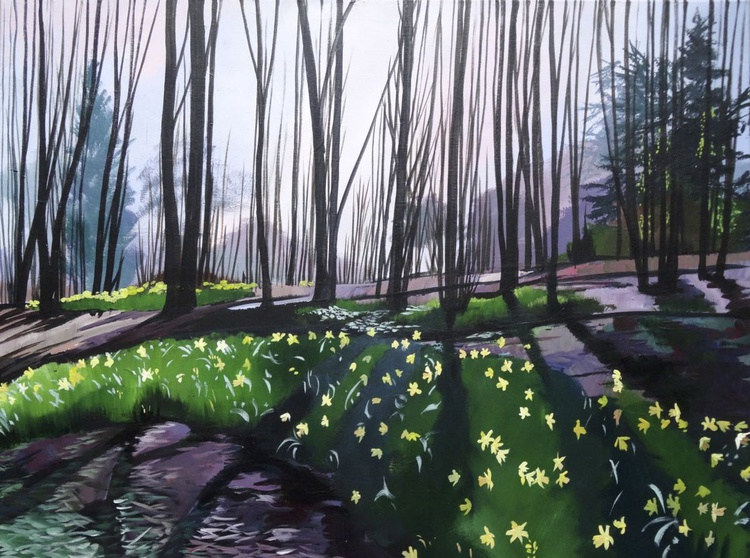 Daffodil Woods 2 - Image 0