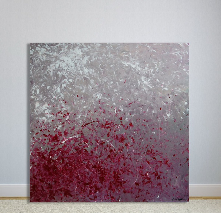 Evaporated Into Airiness (100 x 100 cm) - Image 0