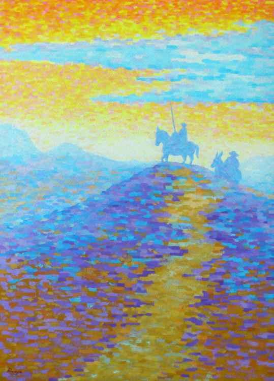 Don Quijote Y Sancho -