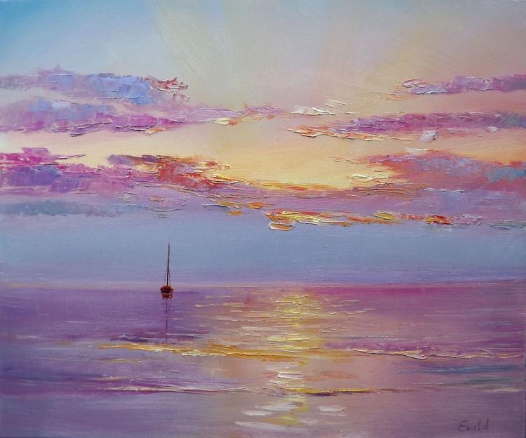 Boat in Sunrise - Image 0