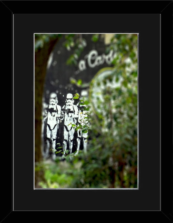 Environmental Storm Trooper - Rome - Framed - Image 0