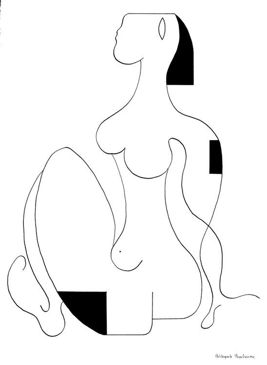 La femme déterminée - Image 0