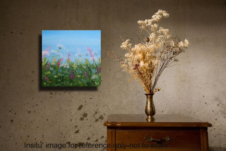 Rosebay Willowherb and Cow Parsley-Tiny Treasures Collection - Image 0