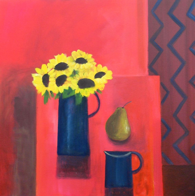 Still Life with Sunflowers - Image 0